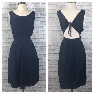 "Gap Denim ""Kitts"" Tye Back Dress"